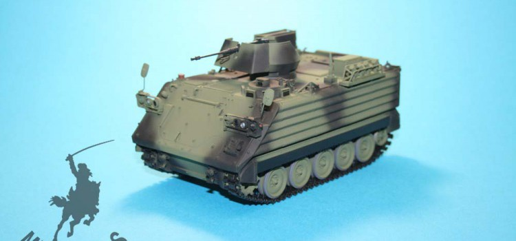 MR Modellbau – M113 Zusatzpanzerung Dänische Armee