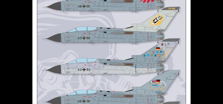 Decals für Tornado IDS in 1:48 von Wingman Models