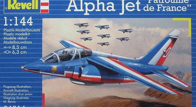 Im Bau: Alpha Jet in 1:144 – Part 3