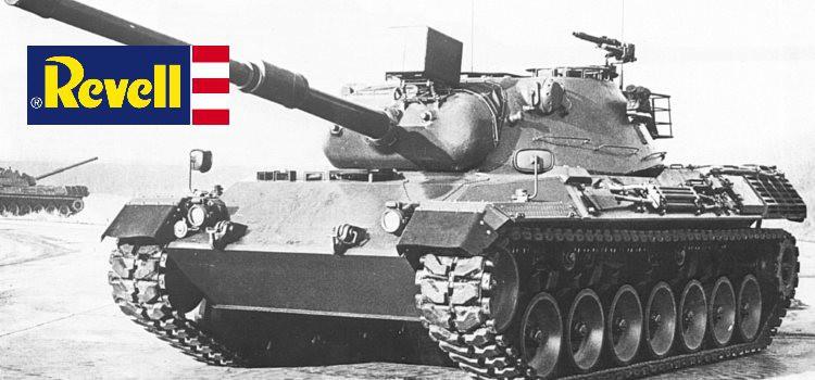 Leopard 1 (2.-4. Produktionslos) – Neuheiten von Revell in 2015