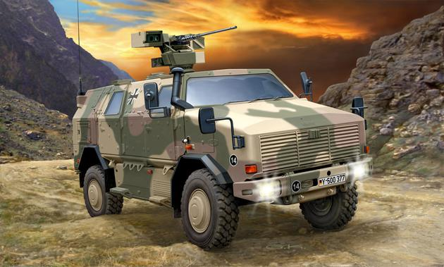 Revell Dingo 2GE A3.3 PatSi verfügbar | MilitaryModelling.info