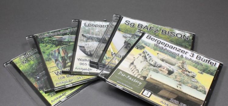 Dio-Factory: Walkaround Bundeswehr DVD's
