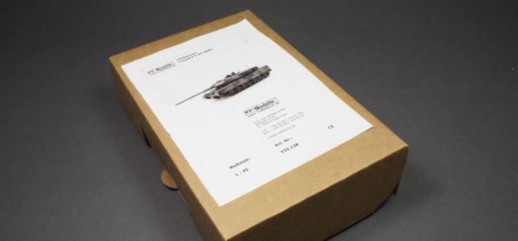 Y-Modelle: Leopard 2A7 Umrüstbausatz