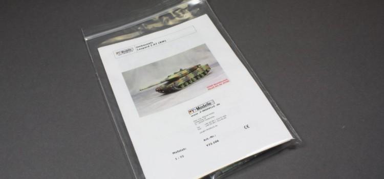 Y-Modelle: Leopard 2A7 im Maßstab 1:72