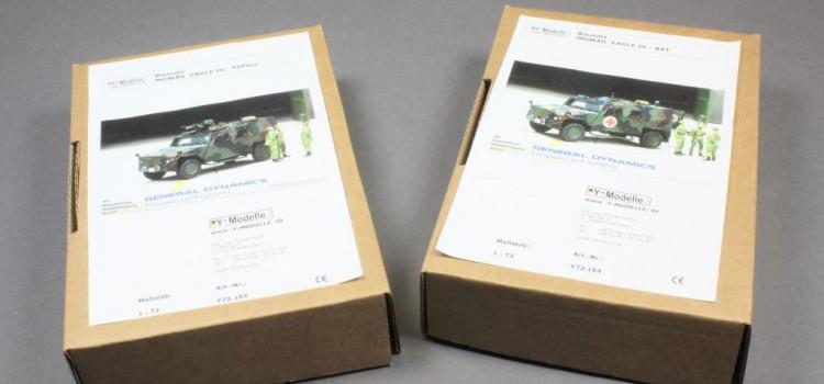 Y-Modelle: EAGLE IV FüPers und BAT in 1:72
