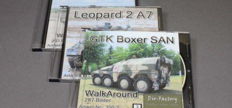 Dio-Factory: Walkaround DVD – Leopard 2A7, SPz Puma, GTK Boxer San