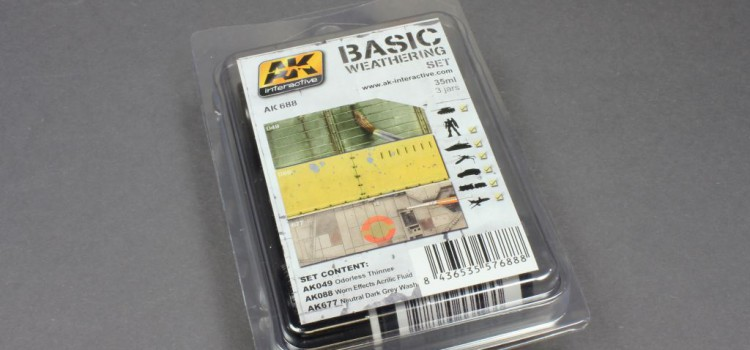 AK Interactive: AK688 Basic Weathering Set