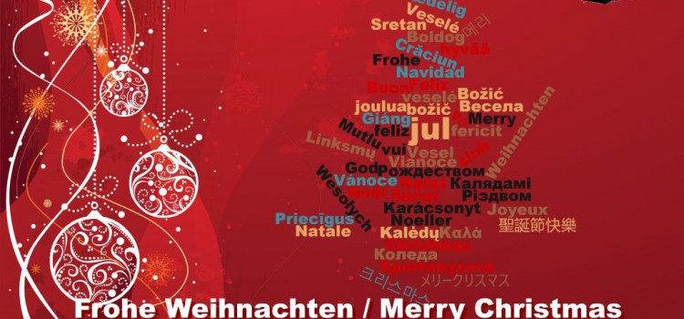 Ich wünsche: Frohe Weihnachten 2015!