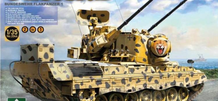 Takom: Ankündigung eines Gepard A1/A2