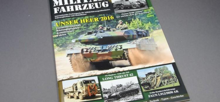 Tankograd Publishing: Militärfahrzeug 2/2016
