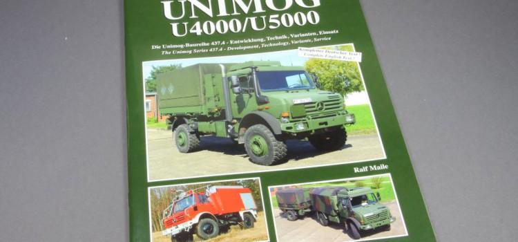 Tankograd Publishing: Militärfahrzeug Spezial Nr. 5059 – UNIMOG U4000/U5000