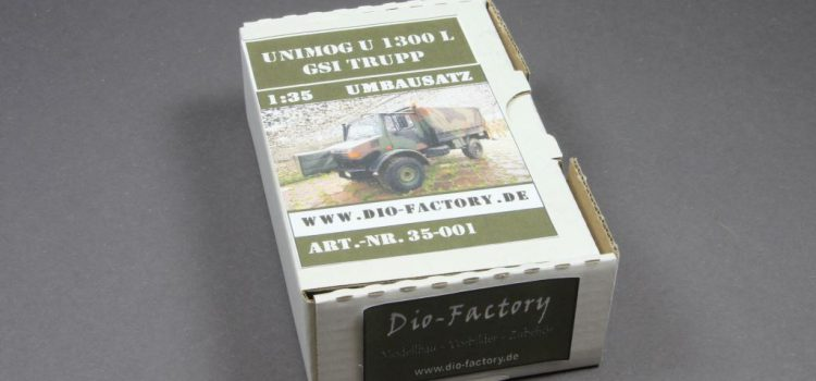 Dio-Factory: Unimog U 1300L GSI / Wartungstrupp