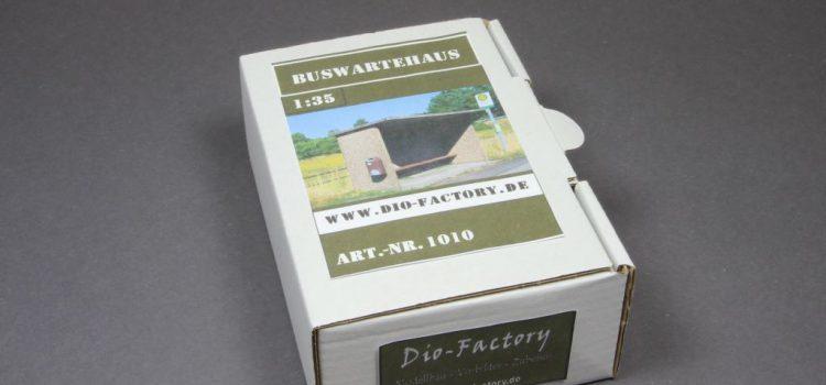 Dio-Factory: Buswartehaus im Maßstab 1:35