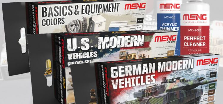 MENG: Color Sets for modern Vehicle and Basic Equipment