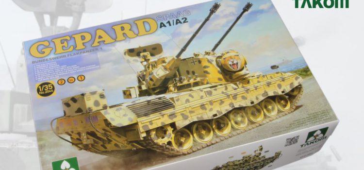 TAKOM: Flugabwehrkanonenpanzer Gepard A1/A2