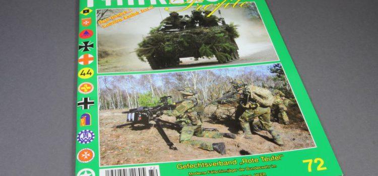 """Unitec Medienvertrieb: Fahrzeug Profile 72 – Gefechtsverband """"Rote Teufel"""""""