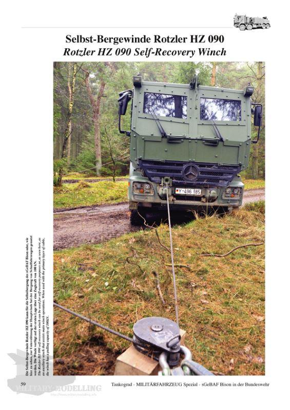 NEU /& 5060 BISON Tankograd geschütztes Bergefahrzeug der Bundeswehr