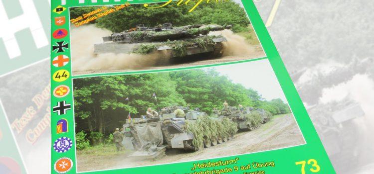 Unitec Medienvertrieb: Fahrzeug Profile 73 – Heidesturm – Die Panzerlehrbrigade 9 auf Übung