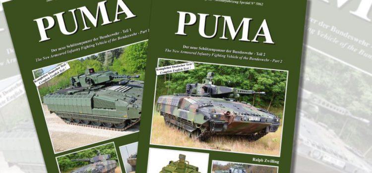 Tankograd Publishing: Militärfahrzeug Spezial Nr. 5061 und 5062 – Puma Teil 1 und 2