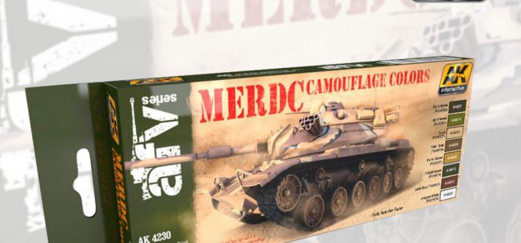 AK Interactive: MERDC Camouflage Colors Set