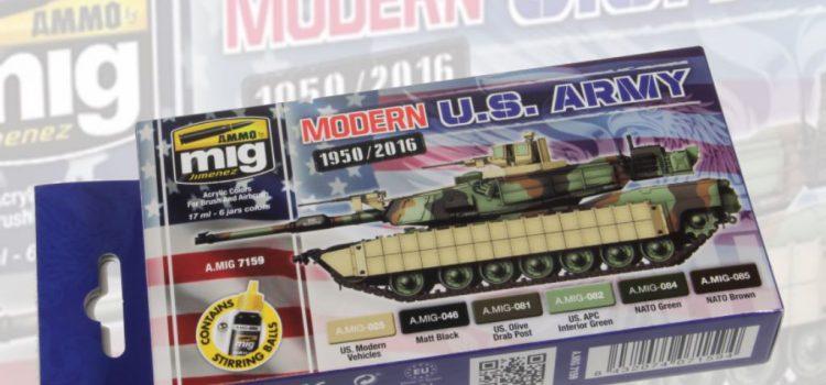 AMMO of Mig: Modern USA Army Colors