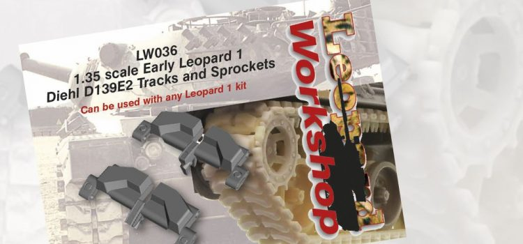 Leopard Workshop: Early Leopard 1 Diehl D139E2 Tracks and Sprockets