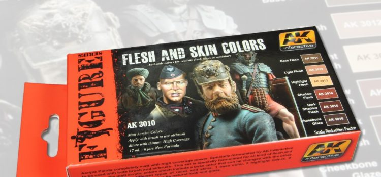 AK Interactive: Flesh and Skin Colors