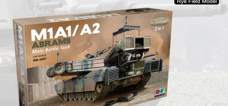 Rye Field Model: M1A1 / A2 Abrams Main Battle Tank with Full Interior