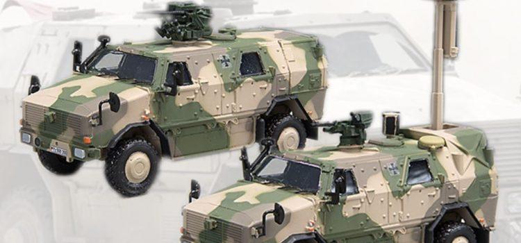 Y-Modelle: Dingo 2 – 3.3 Pat Sich und 3.1 OptInfo in 1:72