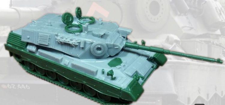 Modelltrans Modellbau: Leopard 1A5DK