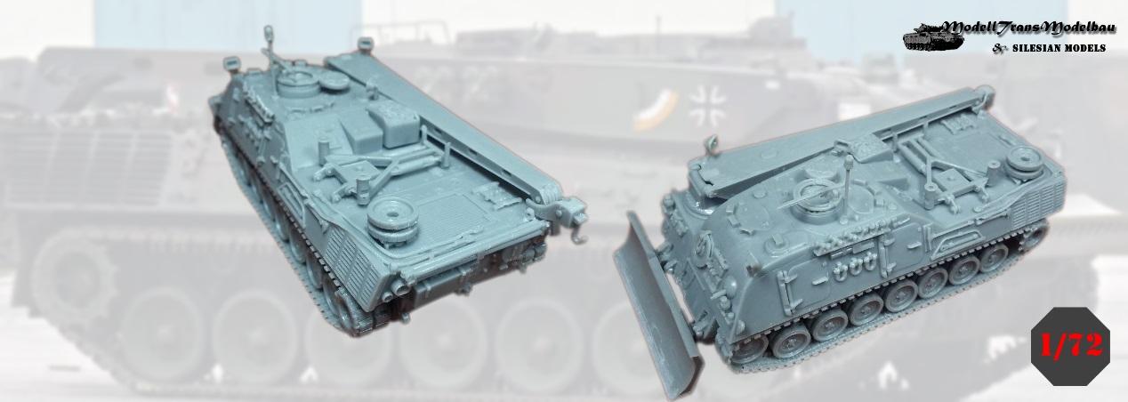Modelltrans Modellbau: Bergepanzer 2 Standard