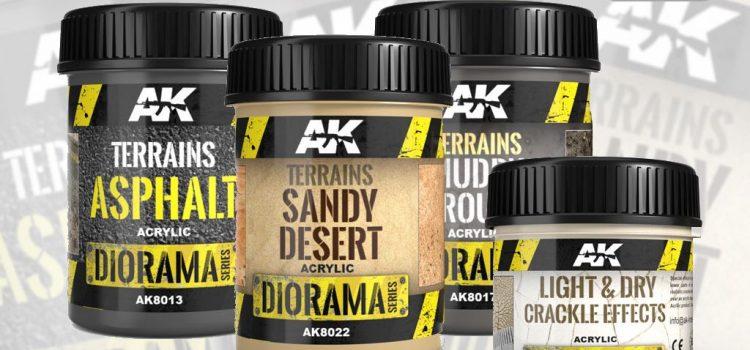 AK Interactive: Diorama Series Terrains