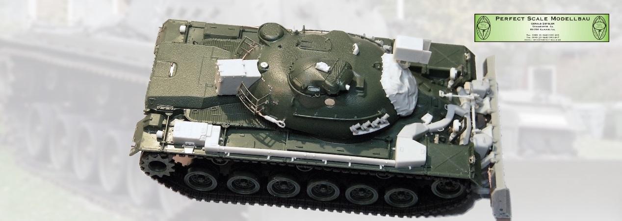 Perfect Scale Modellbau: M48 A2CG Pionier Panzer