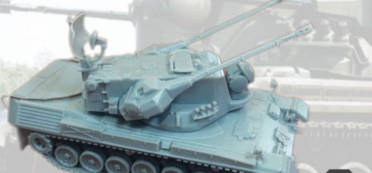 Modelltrans Modellbau: Gepard 1A1