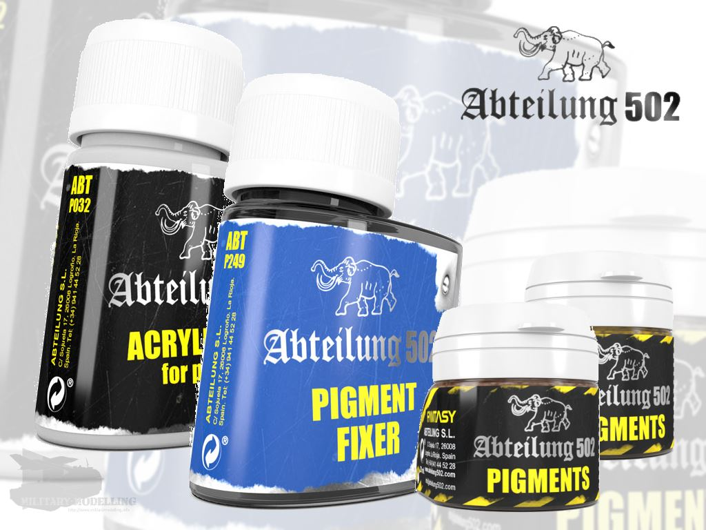 osw.zone Abteilung 502: Pigments and Auxiliary Products | MilitaryModelling.info