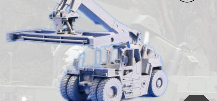 Planet Models: Orion V – Bundeswehr Container Load Trailer