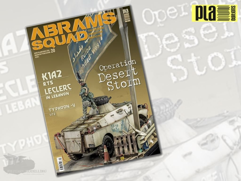 PlaEditions: ABRAMS SQUAD – Issue 20