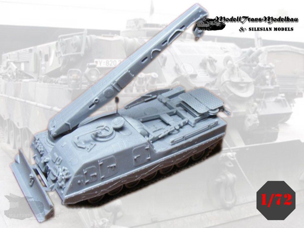 Modelltrans Modellbau: Bergepanzer Büffel (DE/NL)