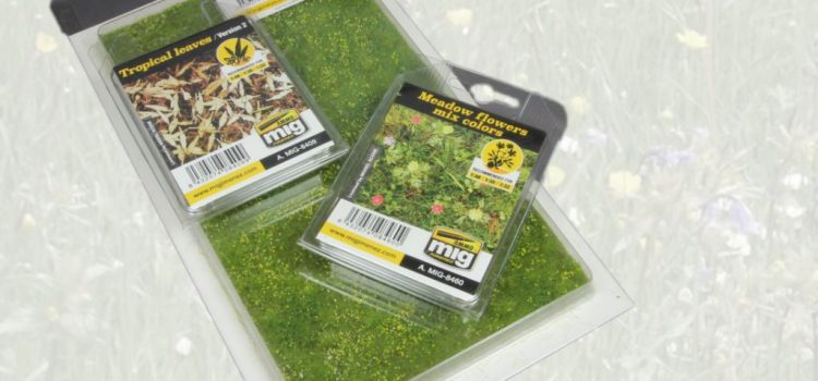AMMO of Mig: Vegetation Wild meadow ground, Meadow Flowers, Tropical leaves