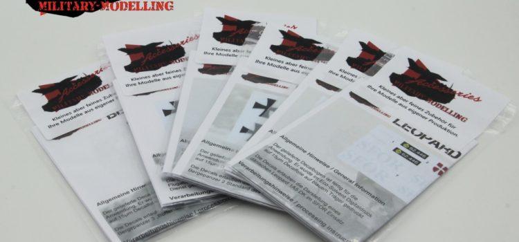 Military Modelling Accessories: Decals für moderne Fahrzeuge in 1:72