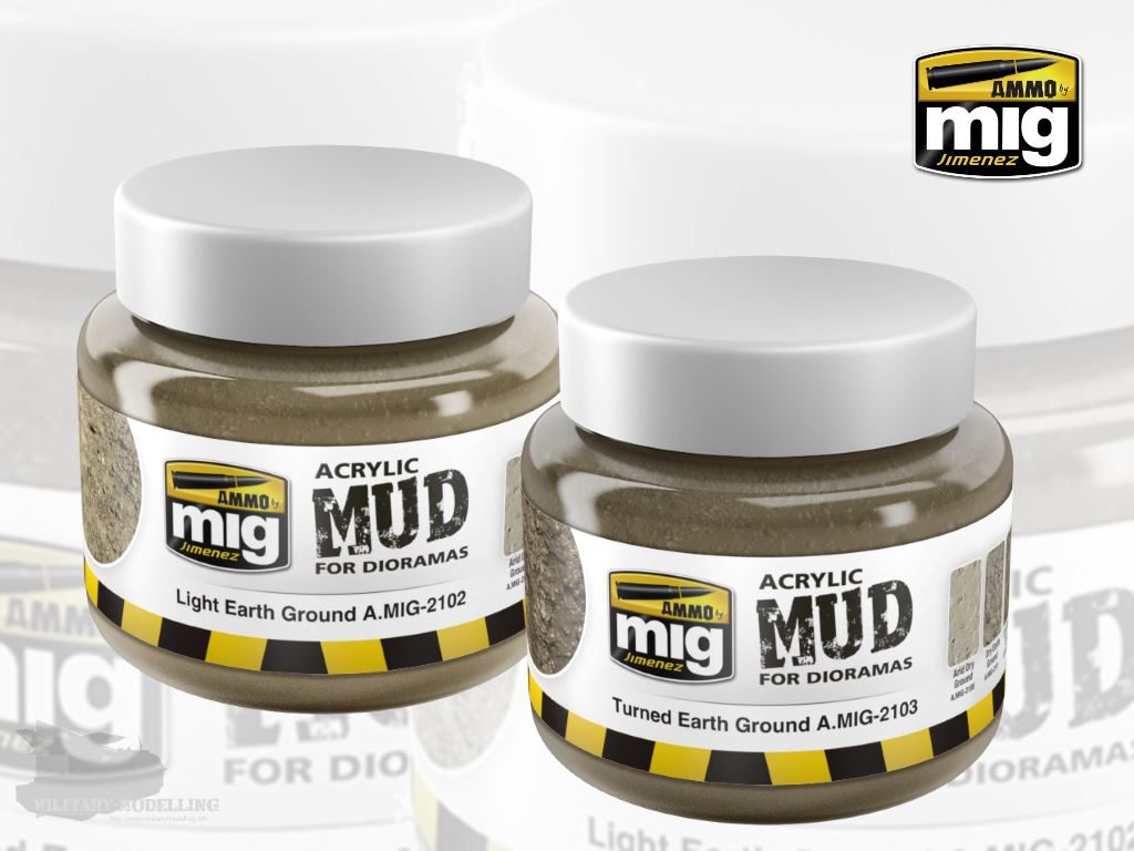 AMMO by Mig: Acrylic Mud for Dioramas