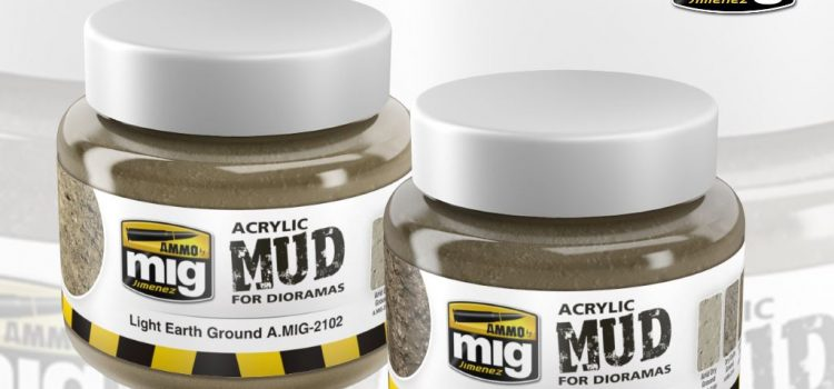 AMMO by Mig: Acrylic Mud for Dioramas