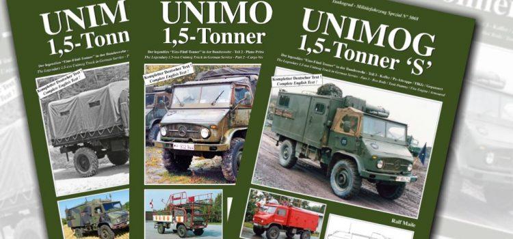 "Tankograd Publishing: Unimog 1,5 Tonner ""S"""
