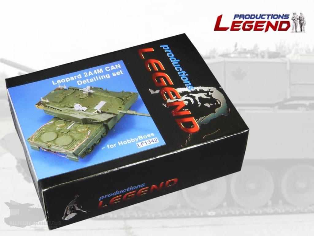 Legend Productions: Leopard 2A4M CAN Detailing Set