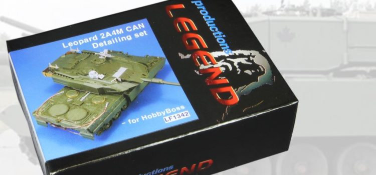 Legend Productions: Leopard 2A4M CAN Detailing Set