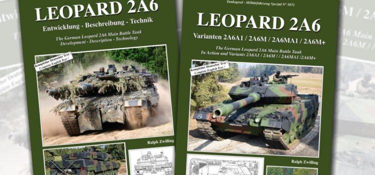 Tankograd Publishing: Militärfahrzeug Spezial 5070 und 5071 – Leopard 2A6