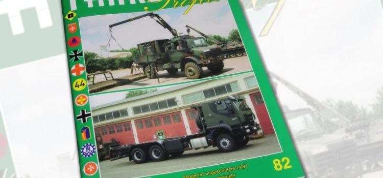 Unitec Medienvertrieb: Fahrzeug Profile 82 – Die ungeschützten LKW der Bundeswehr