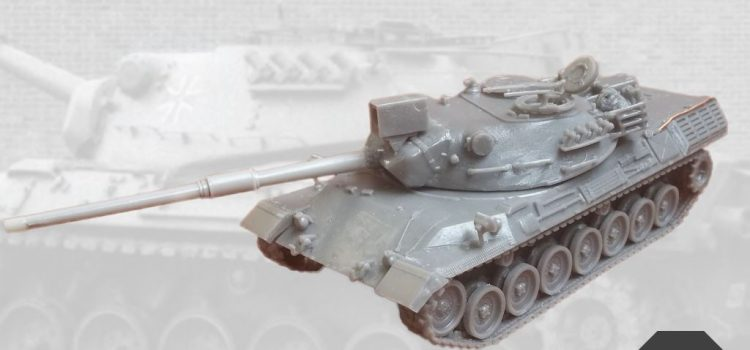 Modelltrans Modellbau: Leopard 1 Early
