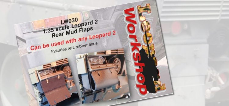 Leopard Workshop: 1:35 Leopard 2 Rear Mud Flaps