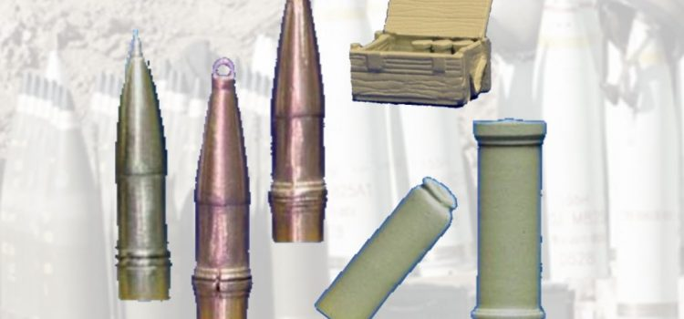 DOLP Modellbau: 155mm Munition-Set's